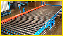 Power & Gravity Roller Conveyor